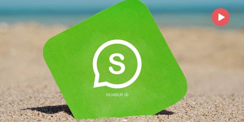 SENDER ID - WhatsApp Blaster Tool Indonesia